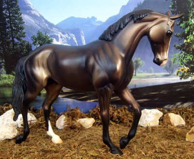 thoroughbred rivendale model horses